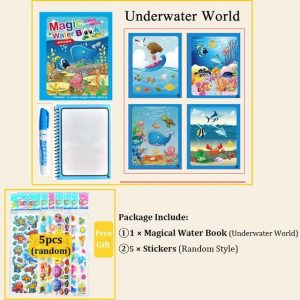 water drawing book for kids