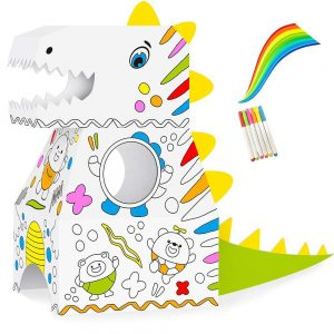 easy kids doodle coloring wearable