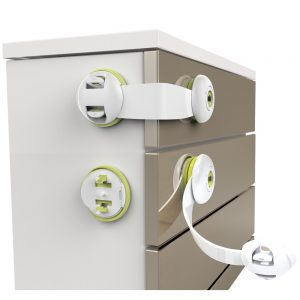 Baby Safe - Multipurpose Cabinet Locks - Set of 4