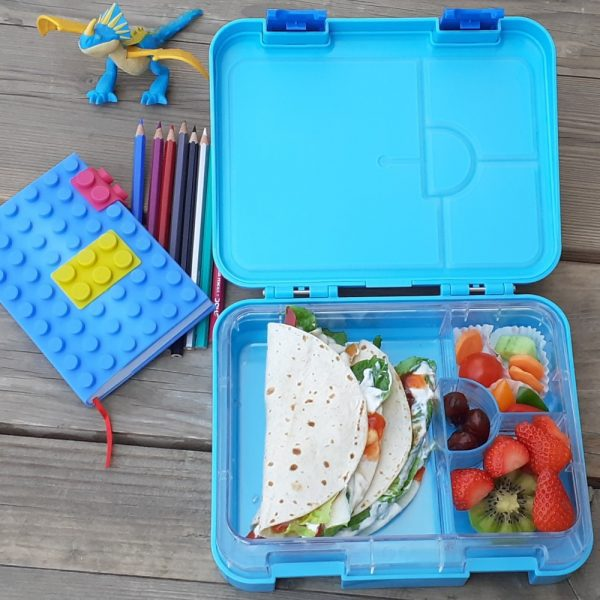 Eazy Kids 4 Compartment Bento Lunch Box