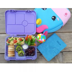 Eazy Kids 6 Compartment Bento Lunch Box