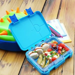 Eazy Kids 6 & 4 Convertible Bento Lunch Box