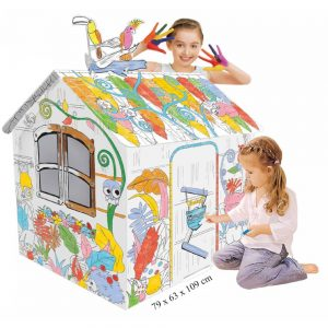 Eazy Kids DIY Doodle Painting Jungle House