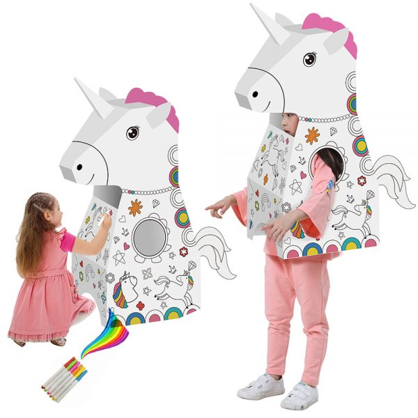 Eazy Kids - Doodle Art & Craft Coloring Wearable Unicorn