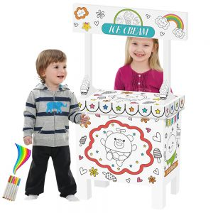 Eazy Kids - Doodle Art & Craft Coloring Ice Cream Shop