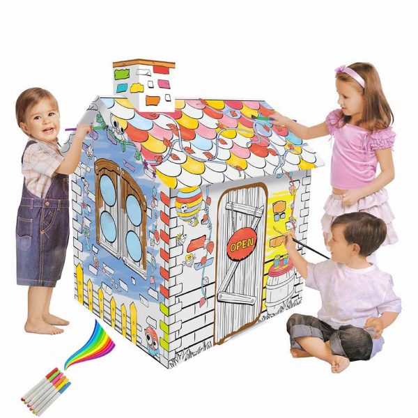 Eazy Kids - Doodle Painting Rattan House