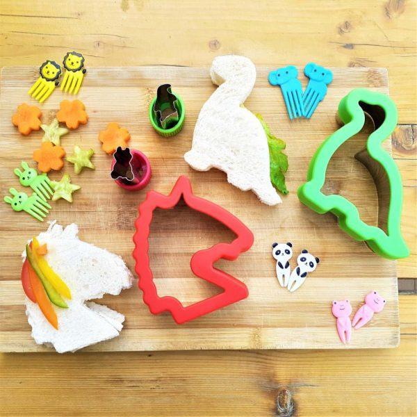 Eazy Kids Stainless Steel Sandwich Cutter Combo