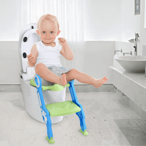Eazy Kids Step Stool Foldable Potty Trainer Seat
