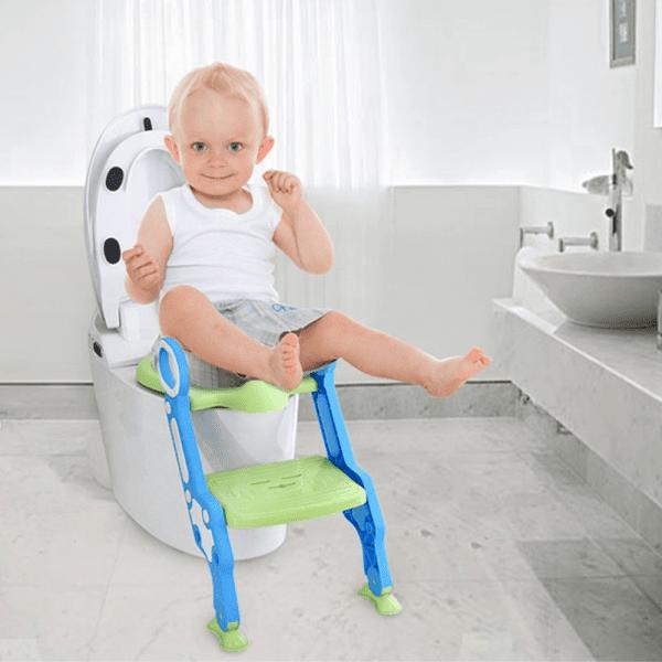 Eazy Kids Step Stool Foldable Potty Trainer Seat