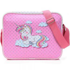 Eazy Kids Unicorn Multipurpose Lunch Bag - Sparkle