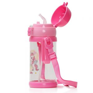 Eazy Kids Unicorn Water Bottle - Friends - Pink