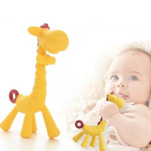 Eazy Kids - Giraffe Teether - Yellow
