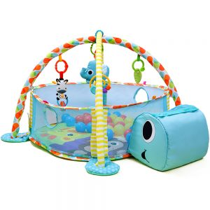 Little Story 3-in-1 Ball Pit / Play Yard and Activity Gym - Tortoise