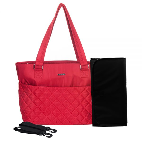 Little Story Aletier Diaper Bag - Red