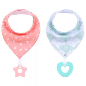 Little Story Bandana Drool Bibs Set of 2
