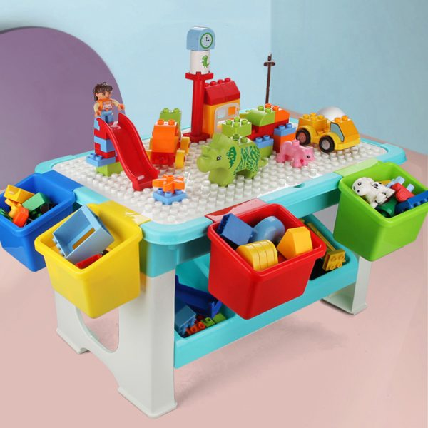 Little Story Blocks 3 in 1 Activity Table