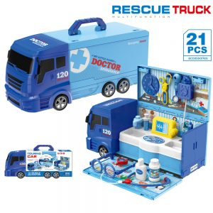 Little Story Doctor Ambulance Rescue Truck
