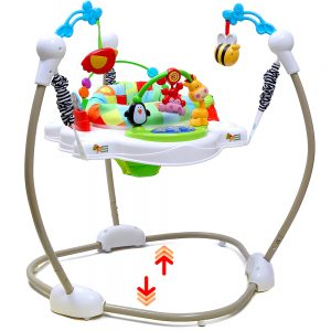 Little Story Jamperoo Activity Center with Lights and Music - Jungle