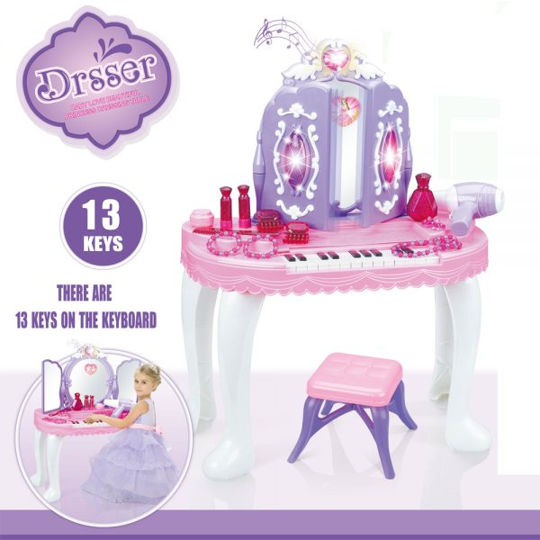 Little Story Piano Princess Dressing Table
