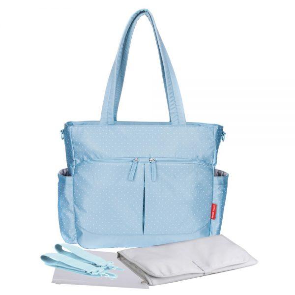 Little Story Westchester Diaper Bag - Blue
