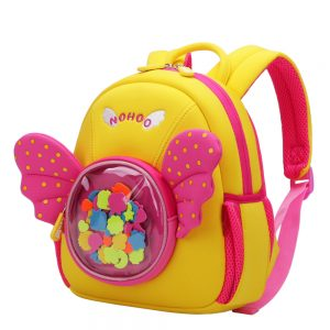 Nohoo Backpack - Wings Pink