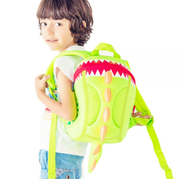 Nohoo Dinosaur Bento Bag School Set