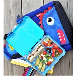 Nohoo Dinosaur Tote Bag and Bento Lunch Box