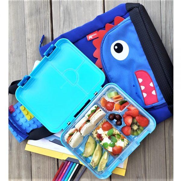 Nohoo Dinosaur Tote Bag and Bento Lunch Box