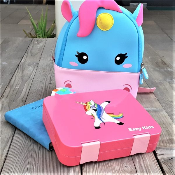 Nohoo Unicorn Bag + Bento Lunch Box
