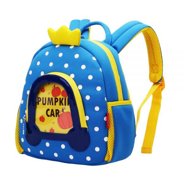 Nohoo WoW Backpack - Pumpkin Carriage Blue