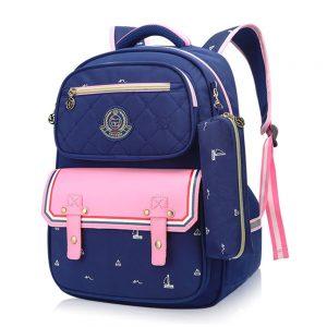 SB Fashion Kids School Bag  with Pencil Case -Zenith