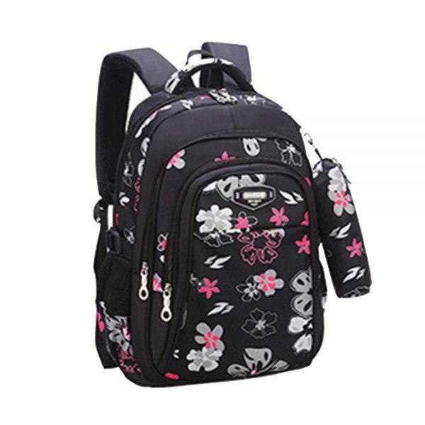 SB Floret School Bag-Black
