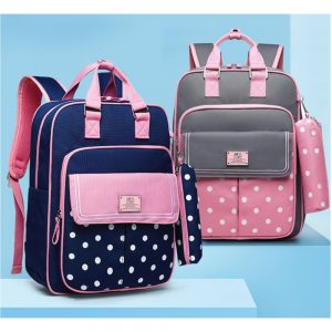 Sambox - Star Kids School Bag with Pencil Case