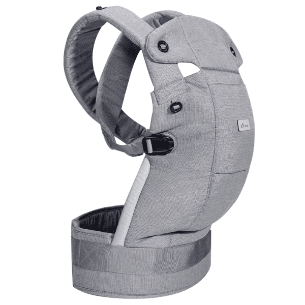 SUNVENO Ergonomic Baby Carrier Sling - Grey Cotton