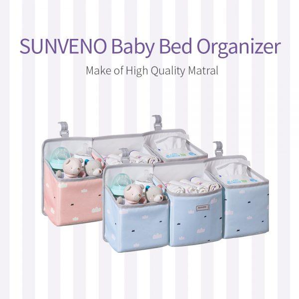 Sunveno - Baby Crib Organizer Caddy
