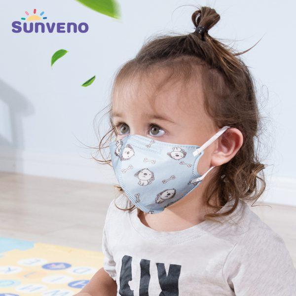 Sunveno Child Face Mask set of 5 pcs