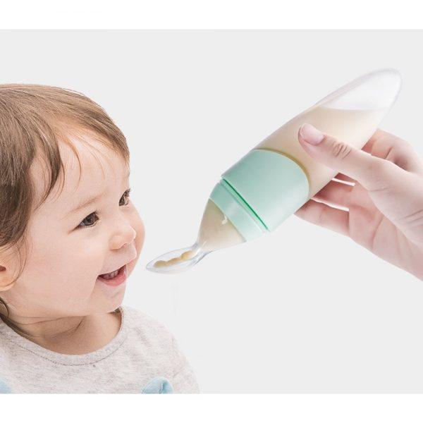 Sunveno Feeding Spoon Dispenser-Green