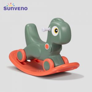 Sunveno Rocking Dinosaur with Wheels