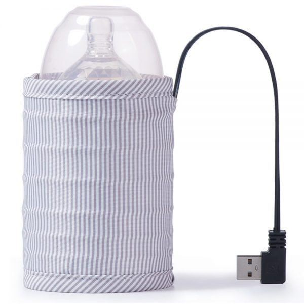 Sunveno - Travel USB Milk Bottle Warmer - Grey