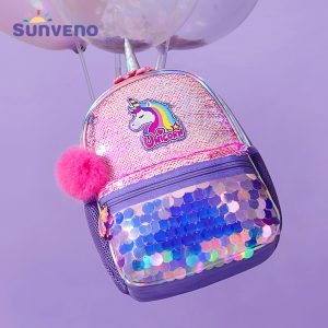 Sunveno Unicorn Sparkle Backpack - Pink