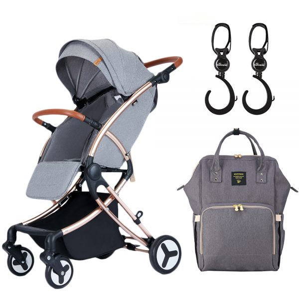 Teknum Feather Lite Story A1 + Sunveno Diaper Bag with Hooks