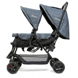 Story by Teknum Double Baby Stroller