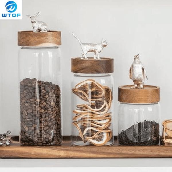 Food Storage Glass Jar