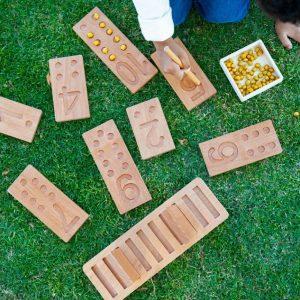 Number Block Tiles