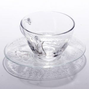 Set of 6 Pcs Tea Cups and Saucers