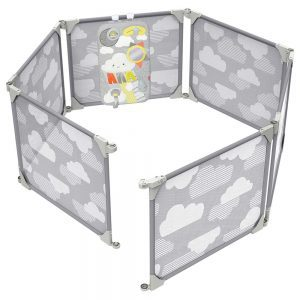 Playview Expandable Enclosure Grey/Clouds