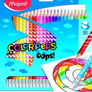 Color Pencils erasable Oops 24 colors