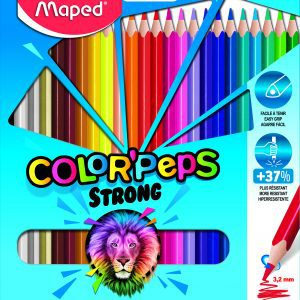 Color Pencils Strong 24 colors