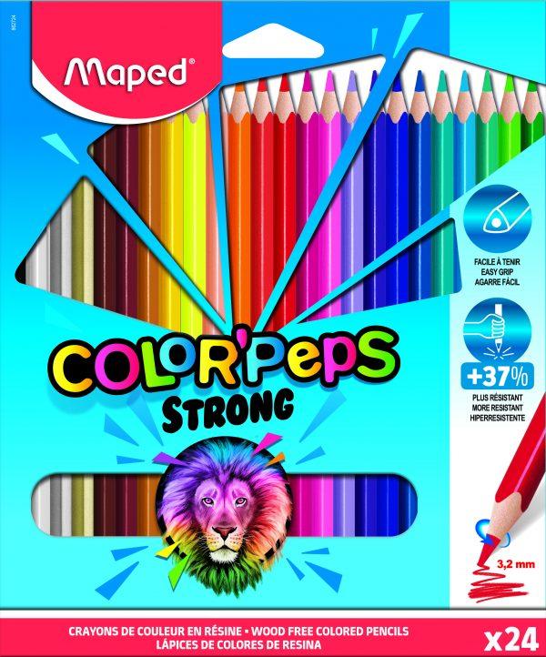 Color Pencils Strong 24 colors