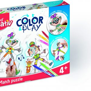 Creativ Color & Play Mix & Match Puzzle